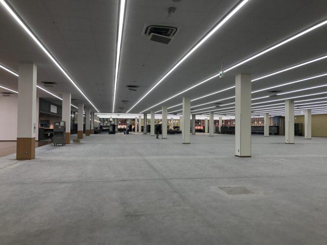 スーパーホームセンターヤマキシ桑原店新築工事